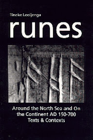 Cover of Jantina Helena Looijenga's Book Runes Around The North Sea And On The Continent