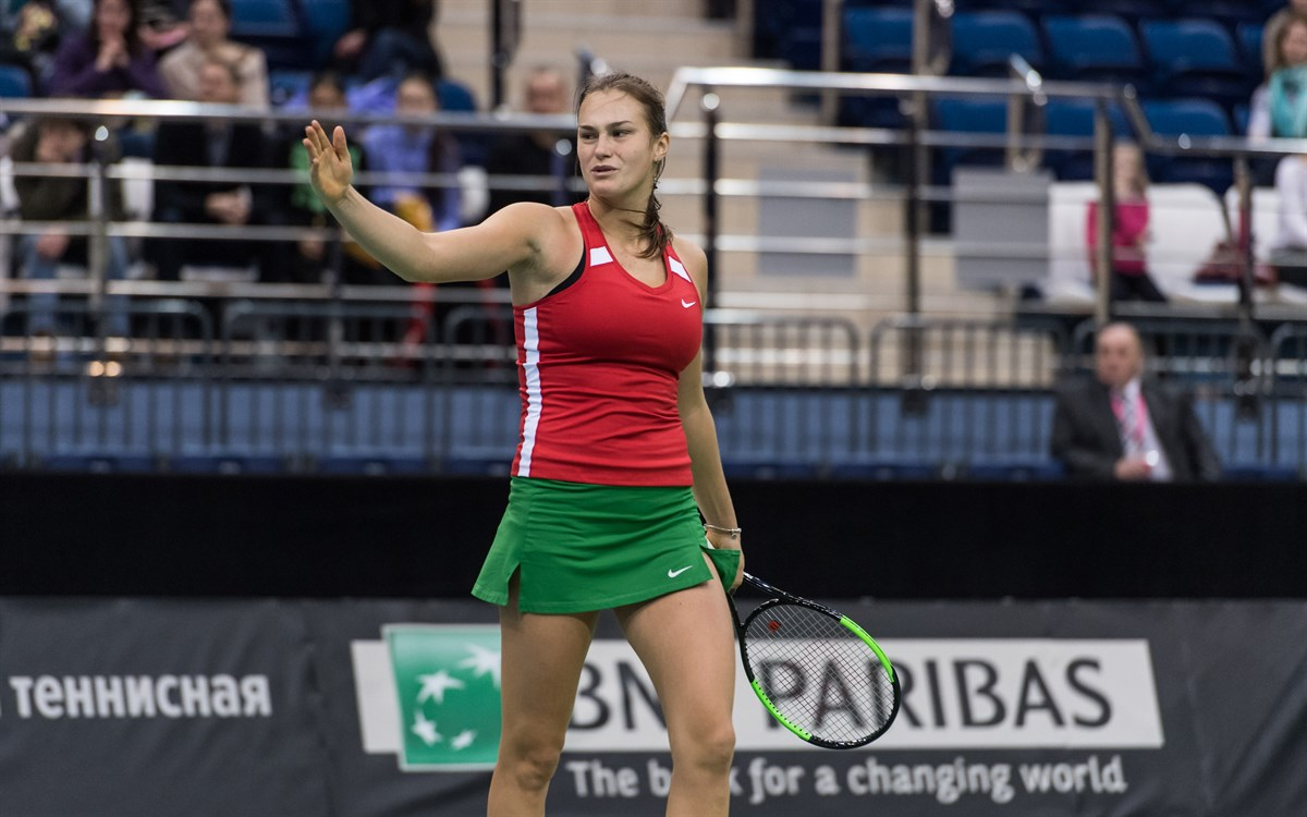 """""""I just said to myself, 'Okay Aryna, you have nothing to lose'. So I just played aggressive and showed my best tennis again."""""""