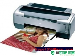 How to reset flashing lights for Epson PM-G5000 printer