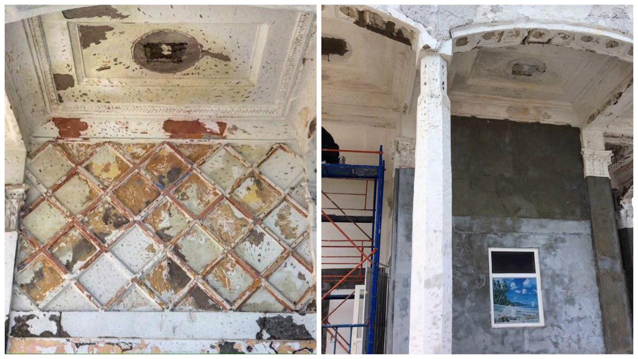 67788 Сегодняшняя Одесса: варварский ремонт на Ланжероне