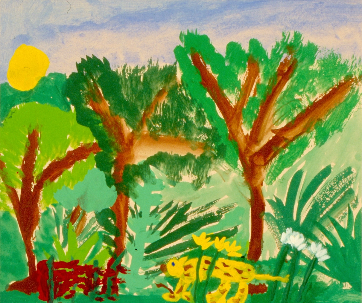 Fun Facts For Kids About Henri Rousseau
