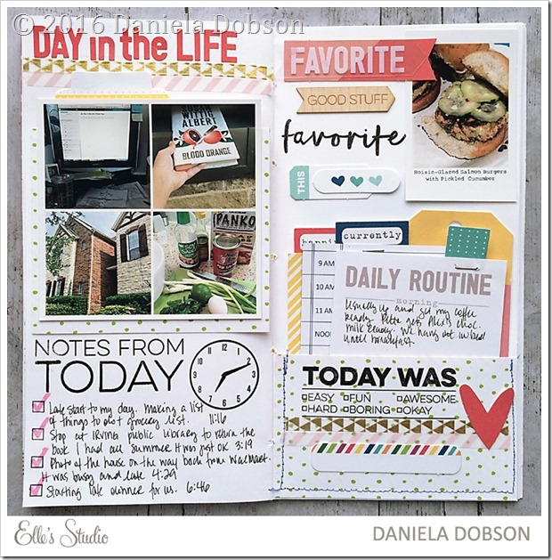 Day in the life by Daniela Dobson