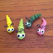 Пластилиновые червяки