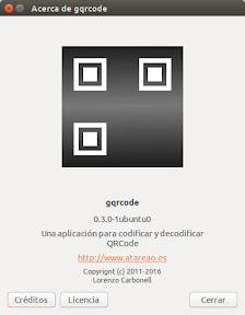 Como crear un código QR para WiFi con GQRCode en Ubuntu - logo