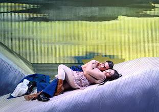 Photo: Salzburger Osterfestspiele 2015: I PAGLIACCI. Premiere 28.3.2015, Inszenierung: Philipp Stölzl. Allessio Arduini, Maria Agresta. Copyright: Barbara Zeininger