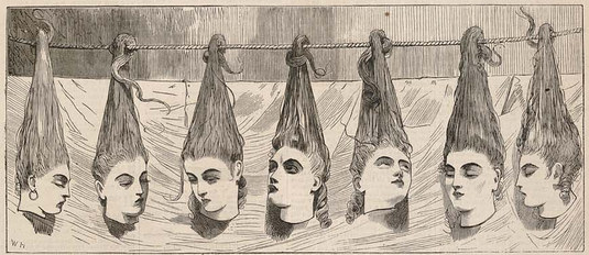 mujeres de barbazul