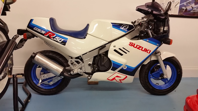 Ever seen a GSXR 50 (no, not mis-typed)
