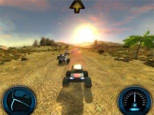 لعبة سيارات Desert Race للكمبيوتر
