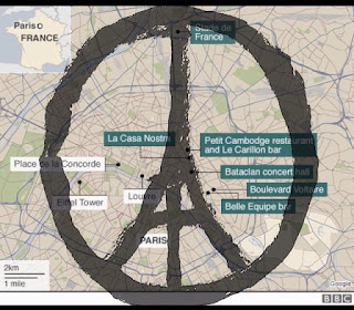 Map Peace for Paris