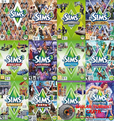 The Sims 3 Pacote Completo PC Torrent Download