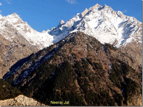 Kinner Kailash Range from Reckong Peo