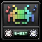 8-bit music icon