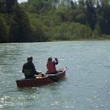 Being on the river is a father/son dream come true