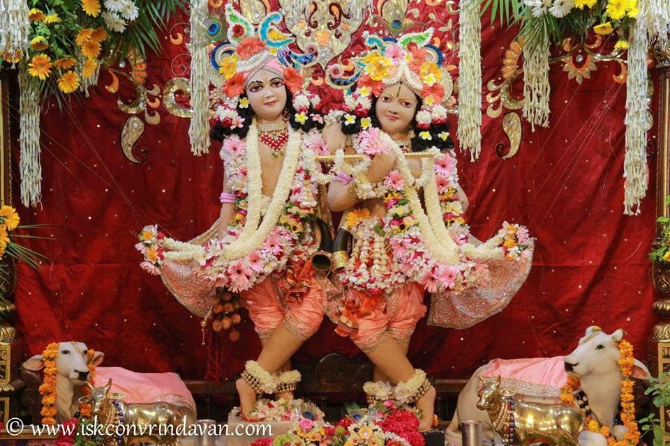 ISKCON Vrindavan Shringar Deity Darshan 29 May  2016 (17)