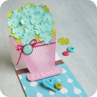 31 - vaso fiori Easel Card -punch tim holtz by cafecreativo (1)