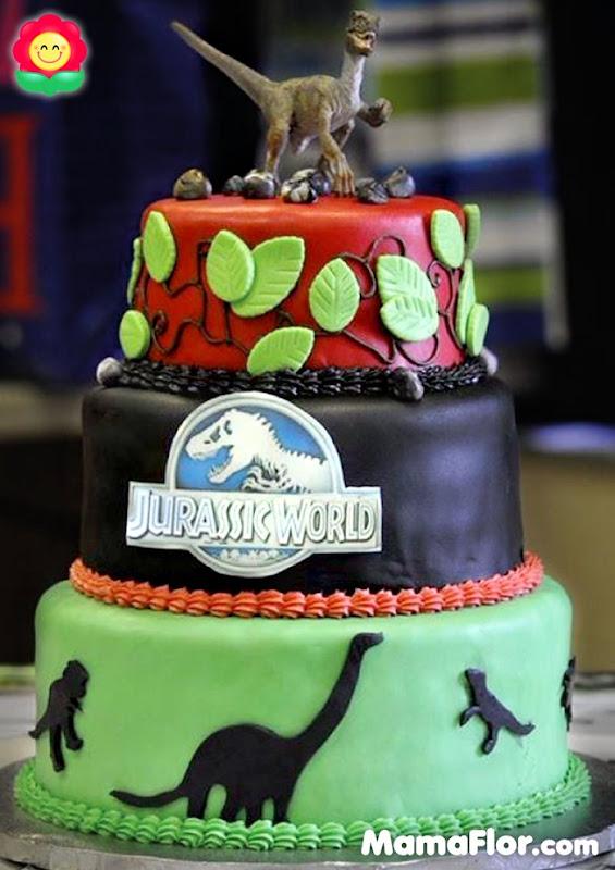 pastel de dinosaurios - 03
