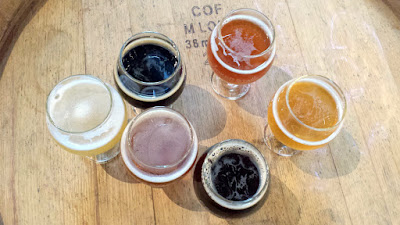 Samplers of Crooked Stave Brett and sour beers
