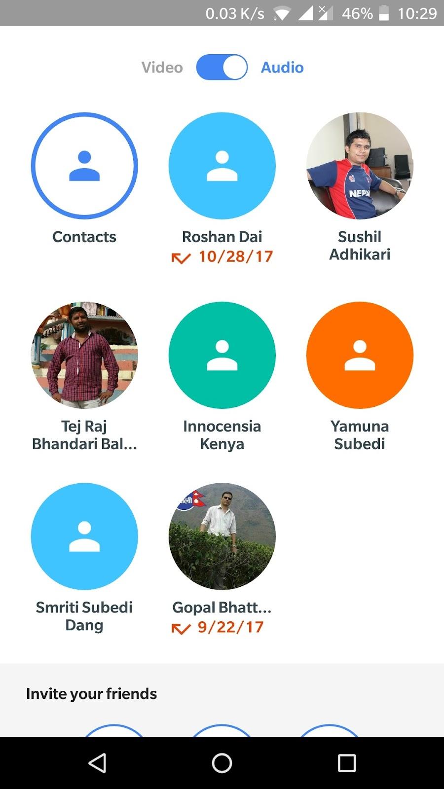 Caller id - Google Duo Pomocník