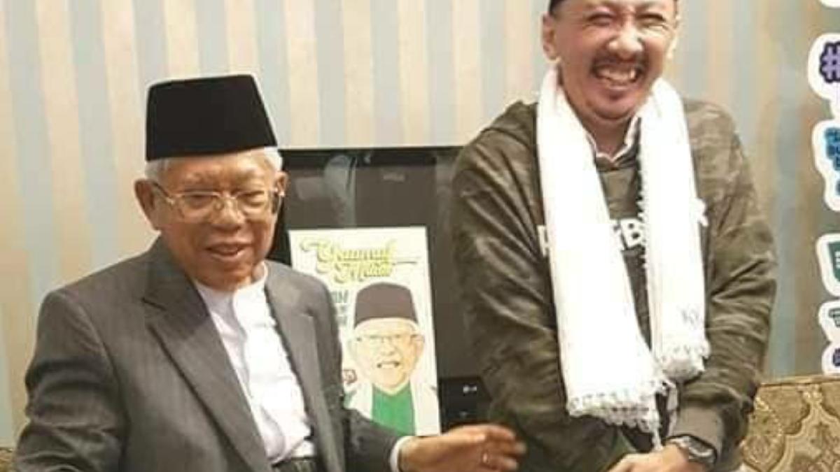 Ma'ruf Amin Sebut Negara Berpenduduk Muslim Tertinggal karena Berpikiran Sempit