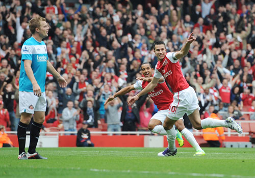 Robin Van Persie, Arsenal - Sunderland