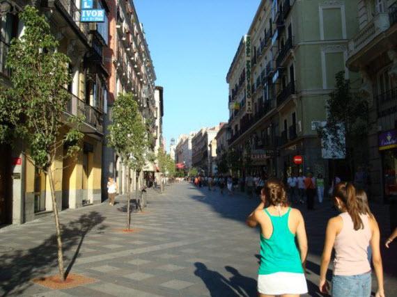 Zonas peatonales donde el ciclista quedará supeditado al tránsito peatonal