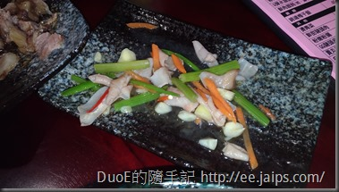 阿珠姐水晶餃麵食館-芹菜鴨腸