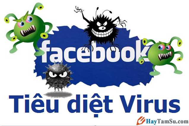 Diệt virus Facebook – Cách gỡ vi rut trên Facebook