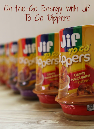 On-the-Go Energy with Jif To Go Dippers #GetGoing