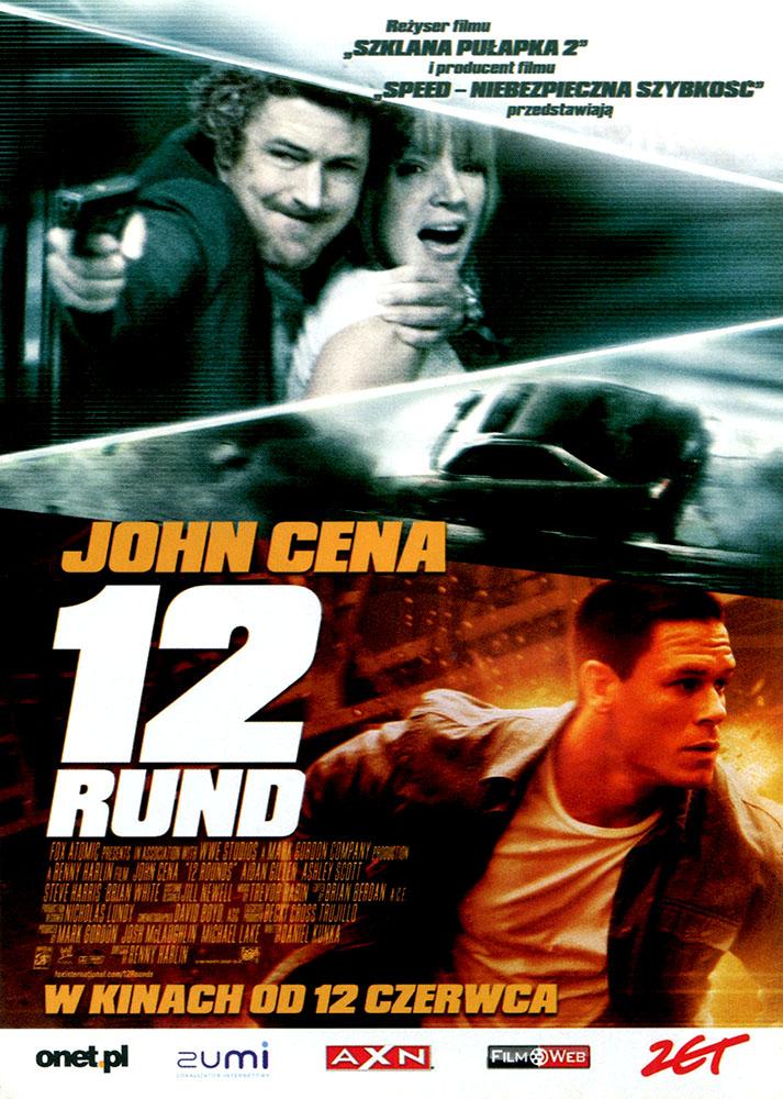 Ulotka filmu '12 Rund (przód)'