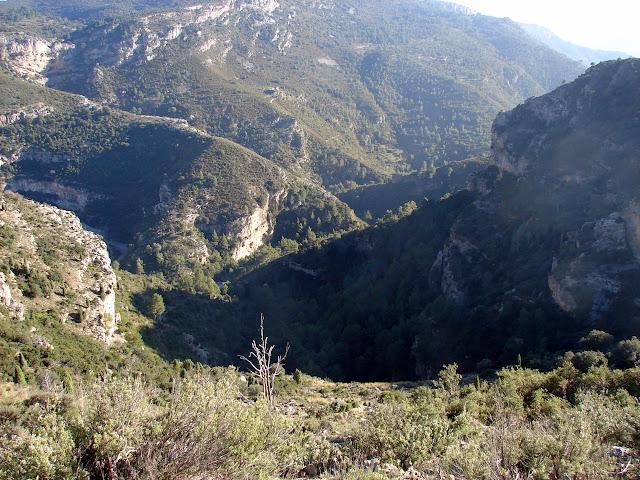 senderismo Nacieminto del río Lucena