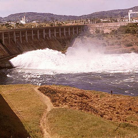 Owen Falls Hydro-Electric Power Station in Jinja