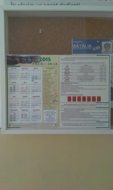Distribuire gratuita a calendarelor cu date de colectare - IMAG0434.jpg