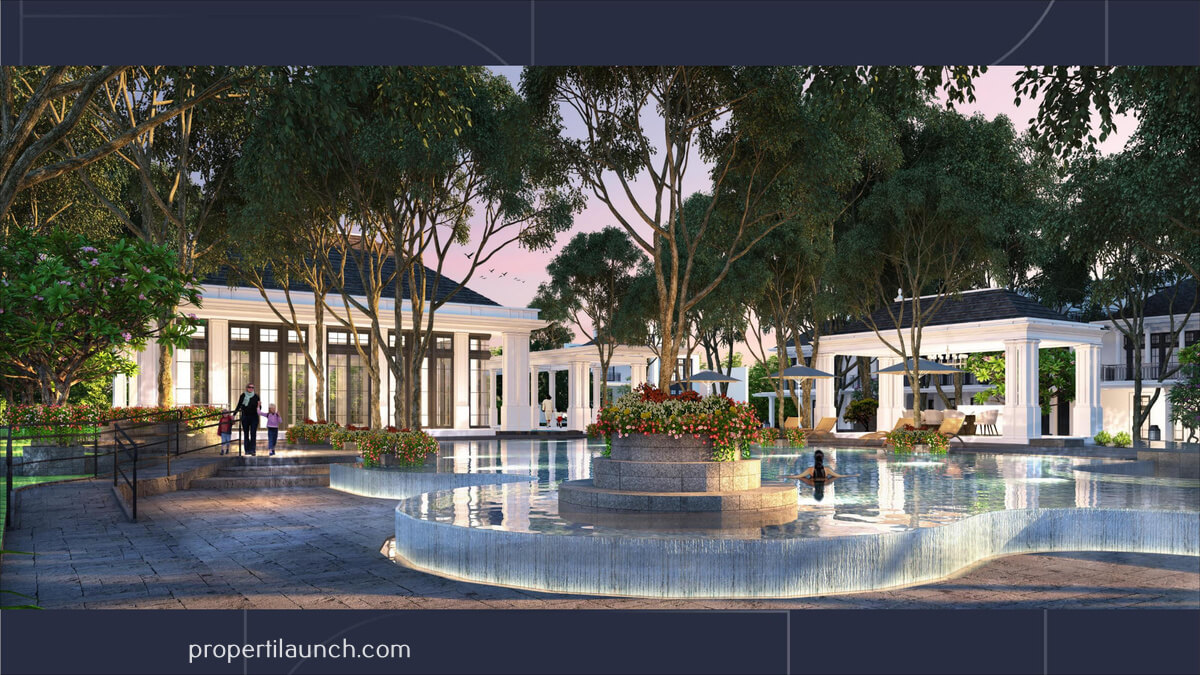 Swimming Pool Cluster Rosewood Golf Residence