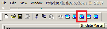 Mengaktifkan mode Modbus Master pada ASE2000 dan start pooling data