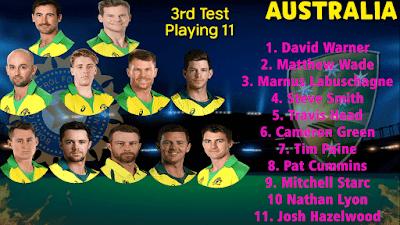 india vs australia match team australia player