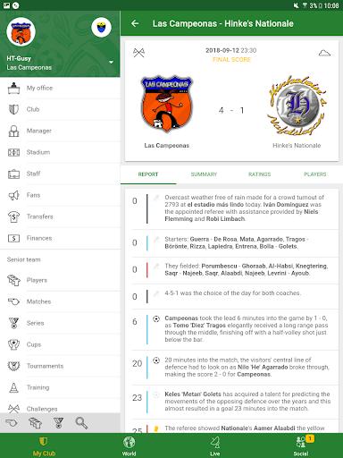 Hattrick Football Manager Game apktram screenshots 13