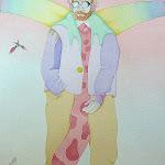 watercolour ON HIS WAY TO IKARIA AT THE INTERNATIONAL AIRPORT NAXOS.jpg