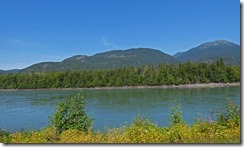 Skeena River along Yellowhead Highway between Kitwanga and Terrace