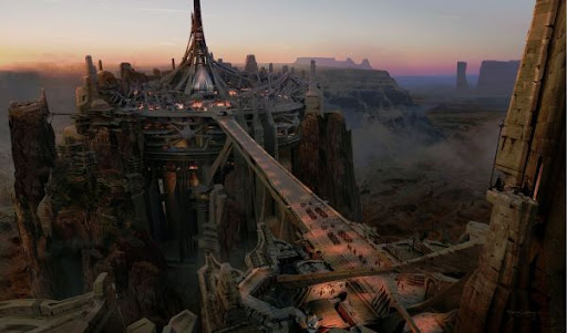 John Carter of Mars (2012) - Barsoom city