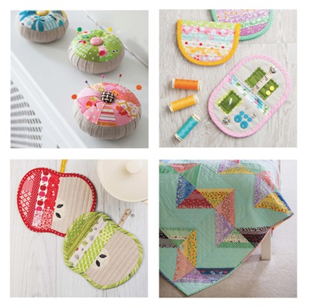 Scrap Happy Sewing projects