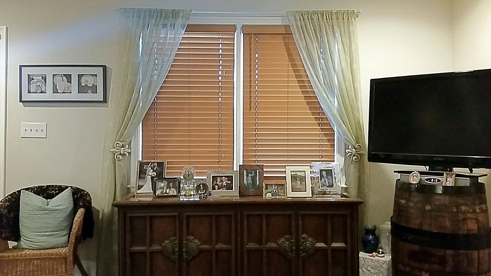 Charm City Ciemny S Faux Wood Blinds Update
