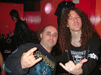 with legendary guitarist Marti Friedman, ex-CACAPHONY ex-MEGADETH