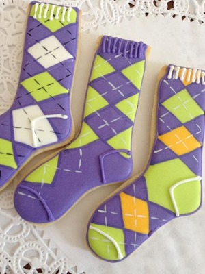 socks cookies2