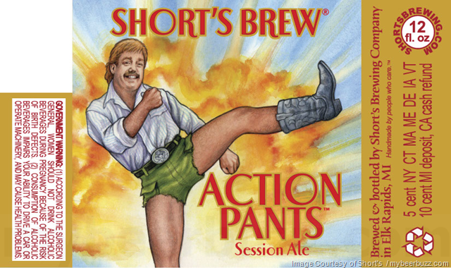 Short's Brewing - Action Pants Session Ale