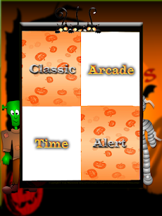 Piano Tiles Halloween Screenshot