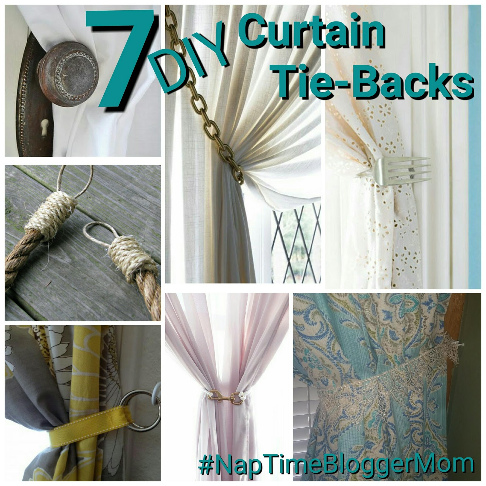 7 diy curtain tie backs