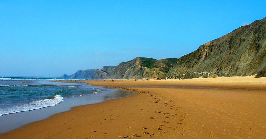 Playas de Castelejo, Cordoama y Barriga, Algarve