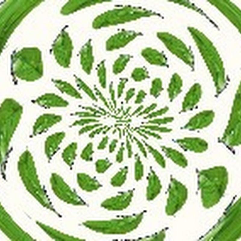 Зеленые бесшовные текстуры
