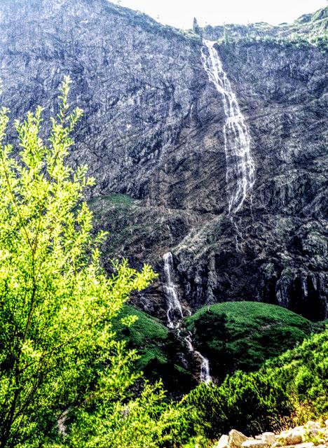 Tannheim Tirol - Talschluss Bärgacht nahe Vilsalpe Wasserfall