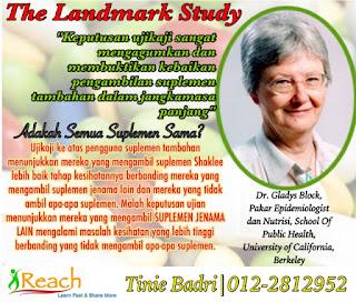Landmark study supplement